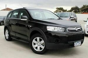 2013 Holden Captiva CG Series II MY12 7 SX Black 6 Speed Sports Automatic Wagon Craigieburn Hume Area Preview