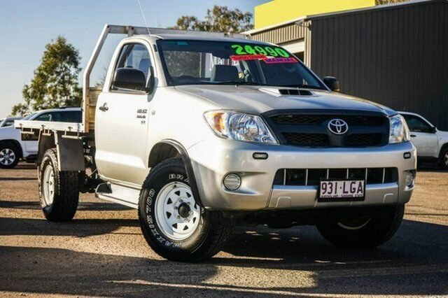 f13bcf0e2a 2008 Toyota Hilux KUN26R MY08 SR Silver 5 Speed Manual Cab Chassis ...