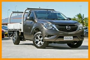 2015 Mazda BT-50 UR0YD1 XT 4x2 Bronze 6 Speed Manual Cab Chassis Hillcrest Logan Area Preview
