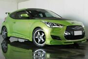 2012 Hyundai Veloster FS + Coupe D-CT Green Semi Auto Hatchback Underwood Logan Area Preview