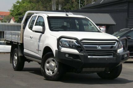2017 Holden Colorado RG MY18 LS Space Cab White 6 Speed Manual Cab Chassis Nundah Brisbane North East Preview