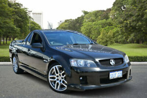 2010 Holden Commodore VE II SS Black 6 Speed Manual Utility