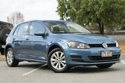 2015 Volkswagen Golf VII MY15 90TSI DSG Comfortline Blue 7 Speed Sports Automatic Dual Clutch Springwood Logan Area Preview