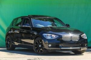 2011 BMW 118i F20 Black 8 Speed Sports Automatic Hatchback Ringwood East Maroondah Area Preview