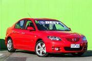 2005 Mazda 3 BK1031 SP23 Red 4 Speed Sports Automatic Sedan Ringwood East Maroondah Area Preview