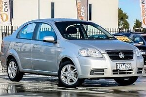 2011 Holden Barina TK MY11 Silver 4 Speed Automatic Sedan Pakenham Cardinia Area Preview