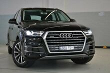 2015 Audi Q7 4M MY16 TDI Tiptronic Quattro Black 8 Speed Sports Automatic Wagon Burwood Whitehorse Area Preview