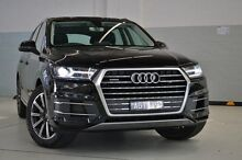 2015 Audi Q7 4M MY16 TDI Tiptronic Quattro Black 8 Speed Sports Automatic Wagon Burwood Whitehorse Area Preview