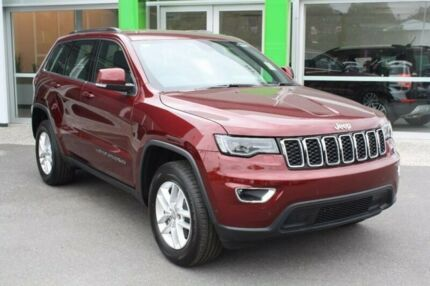 2017 Jeep Grand Cherokee WK MY17 Laredo 4x2 Red 8 Speed Sports Automatic Wagon Mount Gravatt Brisbane South East Preview