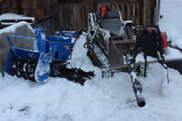 Commercial & Industrial - Snow removal - mini skid steer service