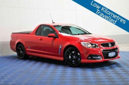 2015 Holden Ute VF MY15 SS-V Redline Red 6 Speed Manual Utility