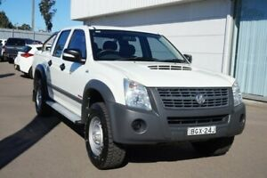 2008 Holden Rodeo RA MY08 LX Crew Cab White 5 Speed Manual Cab Chassis Cardiff Lake Macquarie Area Preview