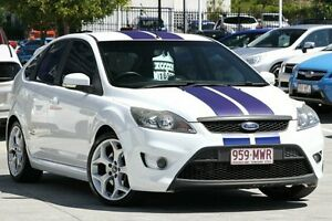 2009 Ford Focus LV XR5 Turbo White 6 Speed Manual Hatchback Moorooka Brisbane South West Preview
