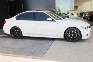 2015 BMW 340i F30 LCI M Sport White 8 Speed Sports Automatic Sedan