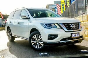 2018 Nissan Pathfinder R52 Series II MY17 ST X-tronic 2WD White Constant Variable Wagon Wangara Wanneroo Area Preview