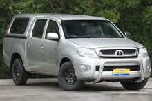 2009 Toyota Hilux GGN15R MY10 SR5 Silver 5 Speed Automatic Utility Ferntree Gully Knox Area Preview