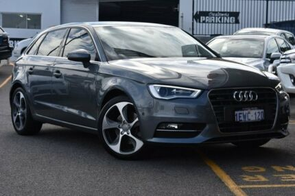 2015 Audi A3 8V MY15 Ambition Sportback S tronic quattro Grey 6 Speed Sports Automatic Dual Clutch Claremont Nedlands Area Preview