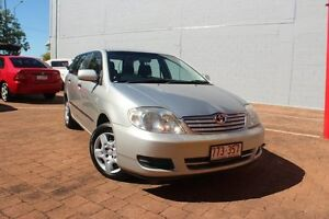 2006 Toyota Corolla ZZE122R 5Y Ascent Sterling Silver 4 Speed Automatic Wagon The Gardens Darwin City Preview