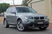 2008 BMW X3 E83 MY09 xDrive20d Steptronic Lifestyle Silver 6 Speed Automatic Wagon Glenelg Holdfast Bay Preview
