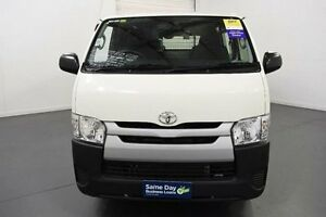 2016 Toyota Hiace KDH201R LWB White Automatic Van Moorabbin Kingston Area Preview