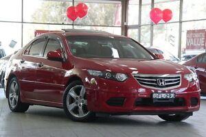 2011 Honda Accord Euro CU MY11 Euro Red 5 Speed Automatic Sedan Roseville Ku-ring-gai Area Preview
