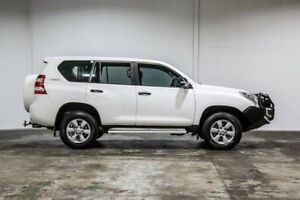 2014 Toyota Landcruiser Prado KDJ150R MY14 GX Glacier White 5 Speed Sports Automatic Wagon