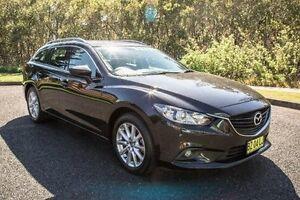 2013 Mazda 6 GJ1031 SPORT WAG 5DR SKYA 6SP Black SEMI AU Port Macquarie Port Macquarie City Preview