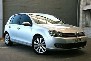 2011 Volkswagen Golf VI MY11 118TSI DSG Comfortline Silver 7 Speed Sports Automatic Dual Clutch Doncaster Manningham Area Preview