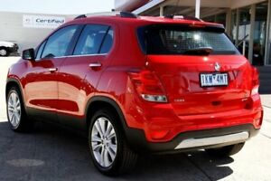 2017 Holden Trax TJ MY17 LTZ Red 6 Speed Automatic Wagon