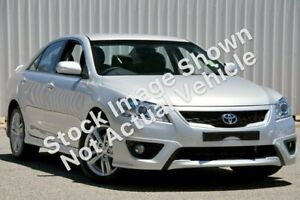 2009 Toyota Aurion GSV40R MY10 Sportivo SX6 Silver 6 Speed Sports Automatic Sedan Hillcrest Port Adelaide Area Preview