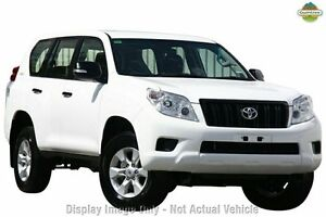 2012 Toyota Landcruiser Prado KDJ150R GX Glacier White 5 Speed Sports Automatic Wagon Ringwood East Maroondah Area Preview