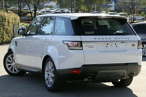 2014 Land Rover Range Rover LW Sport 3.0 SDV6 SE White 8 Speed Automatic Wagon Petersham Marrickville Area Preview