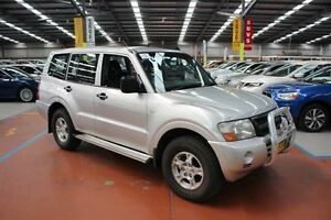 2003 Mitsubishi Pajero NP GLX Silver 5 Speed Sports Automatic Wagon Maryville Newcastle Area Preview
