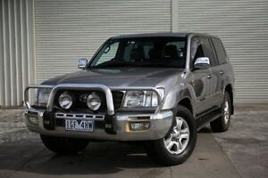 2003 Toyota Landcruiser UZJ100R Sahara Grey 5 Speed Automatic Wagon Seaford Frankston Area Preview