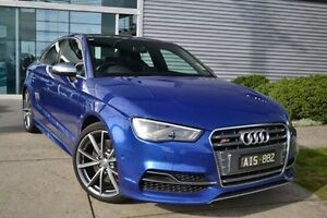 2016 Audi S3 8V MY16 S tronic quattro Blue 6 Speed Sports Automatic Dual Clutch Sedan Burwood Whitehorse Area Preview