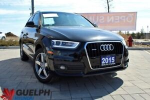 2015 Audi Q3 Progressiv LEATHER | PANO SUNROOF & MORE