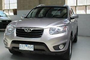 2010 Hyundai Santa Fe CM Grey Sports Automatic Wagon Knoxfield Knox Area Preview