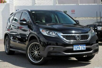 2013 Honda CR-V RM MY14 VTi-S 4WD Black 5 Speed Sports Automatic Wagon Myaree Melville Area Preview