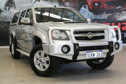 2011 Holden Colorado RC MY11 LT-R (4x4) Silver 5 Speed Manual Crew Cab Pickup