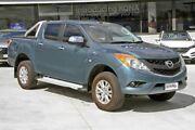 2014 Mazda BT-50 UP0YF1 XTR 4x2 Hi-Rider Blue 6 Speed Sports Automatic Utility Hillcrest Logan Area Preview