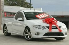 2010 Ford Falcon FG XR6 Ute Super Cab 50th Anniversary White 6 Speed Sports Automatic Utility Pennant Hills Hornsby Area Preview