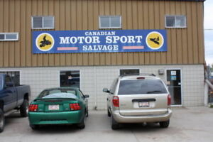 Canadian Motor Sports Salvage & Sales Ltd.