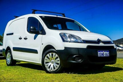 2014 Citroen Berlingo B9C MY14 L1 White 5 Speed Manual Van