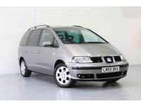 2006 SEAT ALHAMBRA 1.9 STYLANCE TDI AUTO 1 OWNER FROM NEW GREAT SPEC