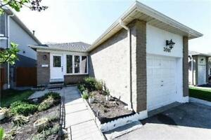 Wow Rare Opportunity! Fully Detached Meadowvale 3 Br Bungalow