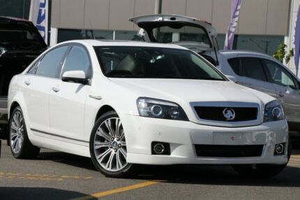 2015 Holden Caprice WN MY15 V White 6 Speed Sports Automatic Sedan