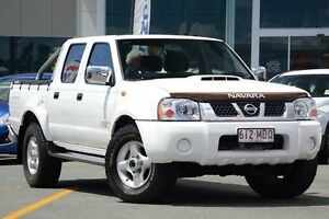 2010 Nissan Navara D22 MY2009 ST-R White 5 Speed Manual Utility Wavell Heights Brisbane North East Preview