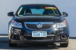 2012 Holden Cruze JH Series II MY13 Equipe Black 6 Speed Sports Automatic Sedan Bellevue Swan Area Preview