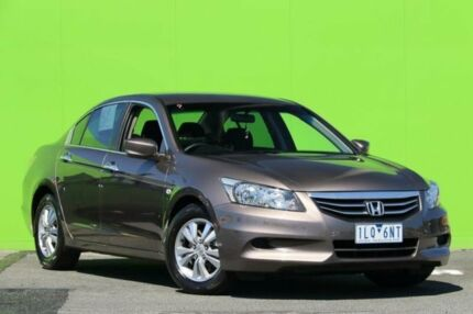2011 Honda Accord 8th Gen MY11 VTi Grey 5 Speed Sports Automatic Sedan Ringwood East Maroondah Area Preview