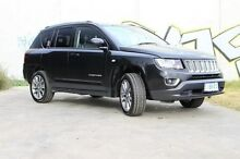 2014 Jeep Compass MK MY15 Limited CVT Auto Stick Black 6 Speed Constant Variable Wagon Derwent Park Glenorchy Area Preview